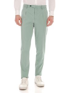 PT01 - Preppy fit trousers in sage green