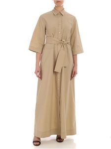 Parosh - Belt chemisier in beige
