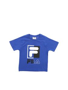 Fila - Saku T-shirt in electric blue