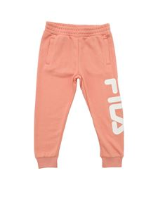 Fila - Classic Logo pants in salmon color