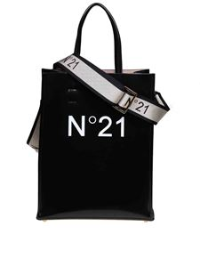 N° 21 - Shopping bag in black with logo