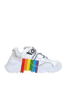 N° 21 - Billy Rainbow sneakers in white