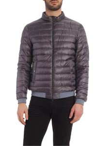 Herno - Branded down jacket in grey