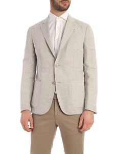 Z Zegna - Single-breasted jacket in grey
