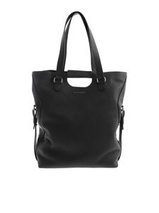 Orciani - Large Isotta Soft shoulder bag in black