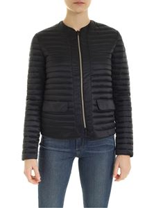 Save the duck - Quilted jacket with pockets in black