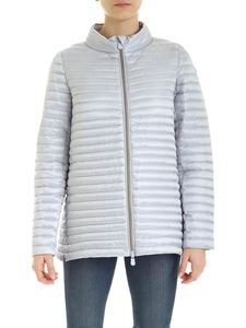 Save the duck - Quilted down jacket in grey