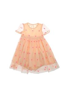 Stella McCartney Kids - Embroidered tulle dress in pink