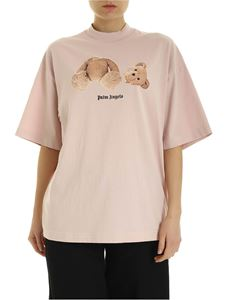 Palm Angels - Bear T-shirt in pink
