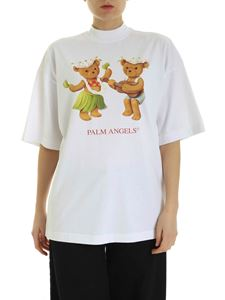 Palm Angels - Dancing Bears T-shirt in white