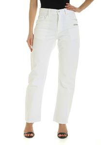 Off-White - Baggy jeans in white
