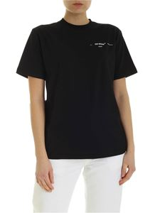 Off-White - T-shirt Puzzle Arrow nera