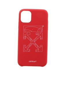 Off-White - Puzzle Iphone 11 case in red