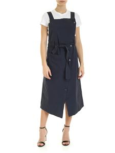DKNY - Belted dress in blue