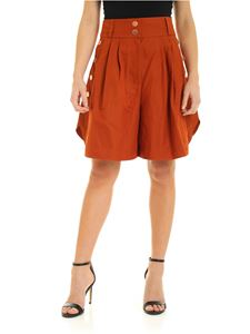 See by Chloé - Shorts in Autumn Leaf color