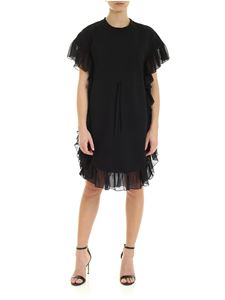 See by Chloé - Ruffled dress in black