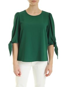 See by Chloé - Blouse in Deep Pine color
