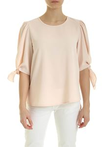See by Chloé - Blouse in Pink sand color