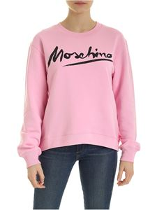 Moschino - Signature sweatshirt in pink