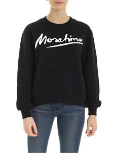 Moschino - Signature sweatshirt in black