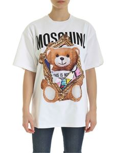 Moschino - Teddy Bear Frame T-shirt in white