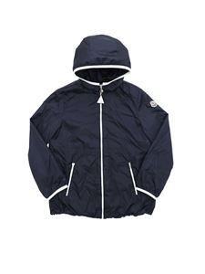 Moncler Jr - Eau jacket in dark blue