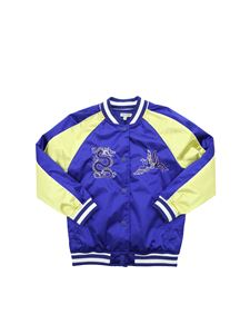 Kenzo - Phoenix Celebration jacket in blue and yellow