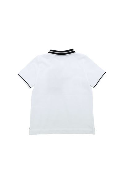 Burberry - Rossal polo shirt in white and black