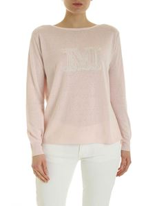 Max Mara - Salice sweater in pink with logo