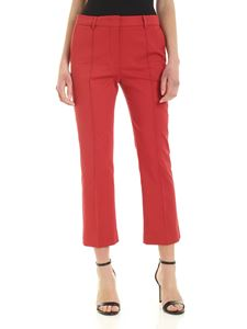 Sportmax - Tropea copped pants in red