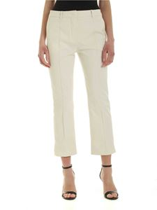 Sportmax - Tropea copped pants in white