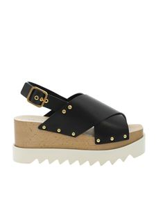 Stella McCartney - Percy sandals in black