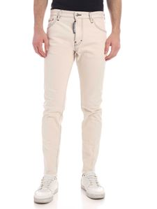 Dsquared2 - Sexy Mercury jeans in ecrù color