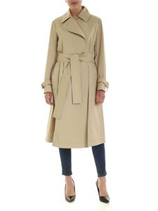 Sportmax - Gang double-breasted trench coat in beige
