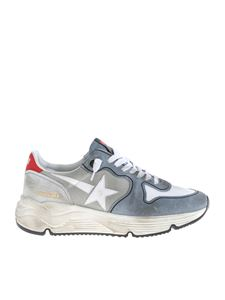 Golden Goose - Running sneakers in white and grey