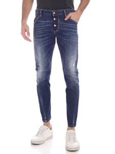 Dsquared2 - Sexy Twist jeans in faded blue