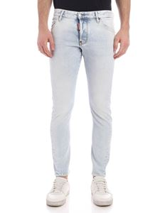 Dsquared2 - Sexy Twist jeans in faded light blue