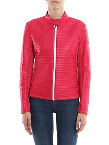 Colmar Originals - Quilted technical fabric jacket in fuchsia