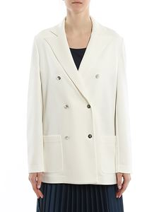 Fay - Branded button peacoat