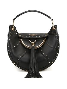Balmain - Leather tote with coin purse