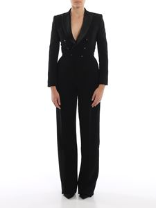 Dsquared2 - Oscar black viscose crepe jumpsuit