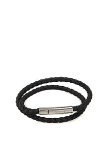 Tod's - MyColors black leather bracelet