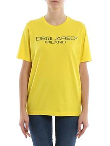 Dsquared2 - Logo lettering printed jersey T-shirt