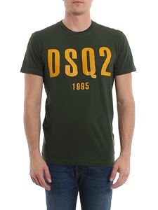 Dsquared2 - T-shirt in jersey con stampa DSquared2 1995