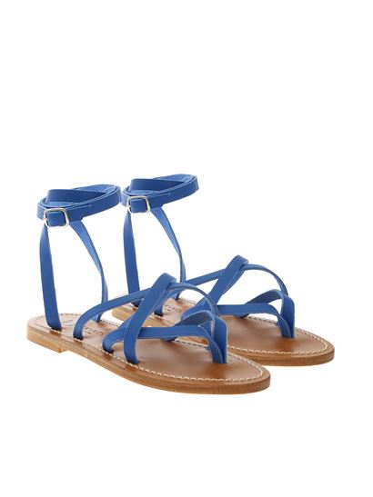 K. Jacques - Zenobie F flip flop in electric blue