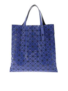 BAO BAO Issey Miyake - Prism Gloss bag in indigo blue color