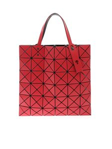 BAO BAO Issey Miyake - Lucent Matte-2 bag in strawberry red
