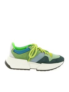 MM6 Maison Margiela - Chunky sneakers in green shades