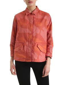 Aspesi - Camouflage jacket in shades of red