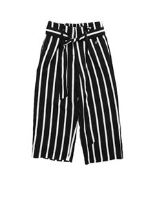 Monnalisa - Riviera pants in black and white